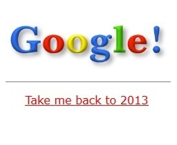 """Google celebrates 15 years with """"Google in 1998"""" Easter ..."""